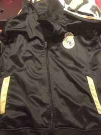black and yellow Nike zip-up jacket Medford, 11763