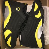 pair of black-and-yellow Air Jordan shoes Bay Point, 94565