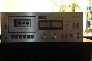 Gray cassette player receiver