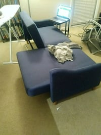 blue loveseat/couch Tampa, 33613