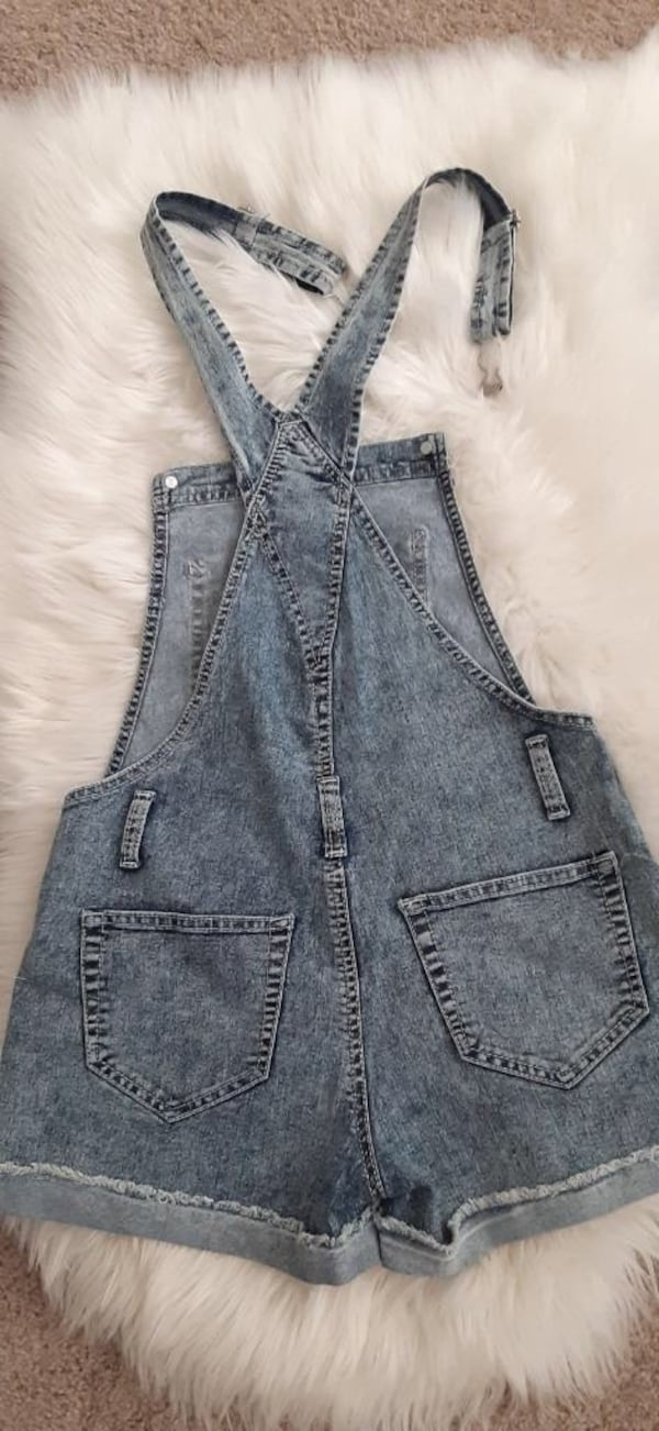 Super cute denim overal size S 2