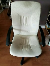 White office chair Coquitlam, V3E 2R3