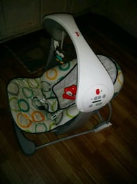 white and green Fisher-Price cradle n swing Herndon, 20170