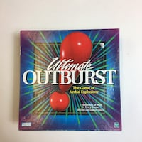 Ultimate outburst the game of verbal explosions box