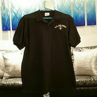 Us airforce Polo style black shirt