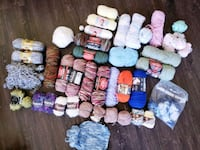 Yarn Skeen Lot Meridian, 83646