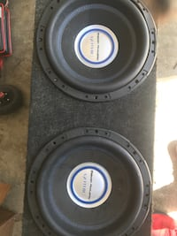 2 12' power acoustic gothic