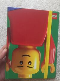 Lego journal notebook with hard cover and strap 印第安纳, 15701