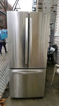 LG 30in stainless steel french door refrigerator