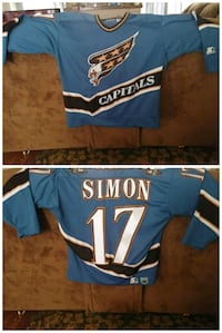 Capitals Simon Jersey Denver, 80210
