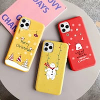 Christmas New 2019Matte Tpu Case For iPhone XR/ 11/ 11 pro/ 11 Pro Max 费尔法克斯