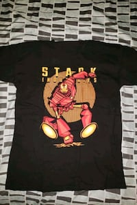 iron man/ iron giant tshirt LARGE Queens, 11361