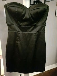 Small forever 21 black strapless dress Toronto, M3A 3K4