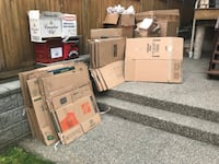 Tons of moving boxes all sizes New Westminster, V3L 4A9