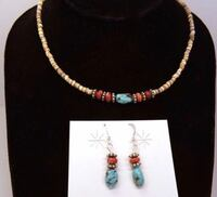 Authentic Navajo earrings and necklace! Silver Spring, 20904