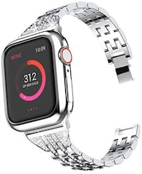 Compatible with Apple Watch strap, case 38 mm 40 mm (women), suitable