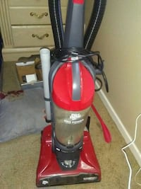 red and black upright vacuum cleaner Bakersfield