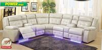 tufted pink leather sectional sofa Roslyn Heights, 11577