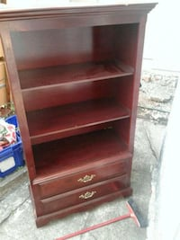 brown wooden 5-layer shelf Vancouver, V5W 3M8
