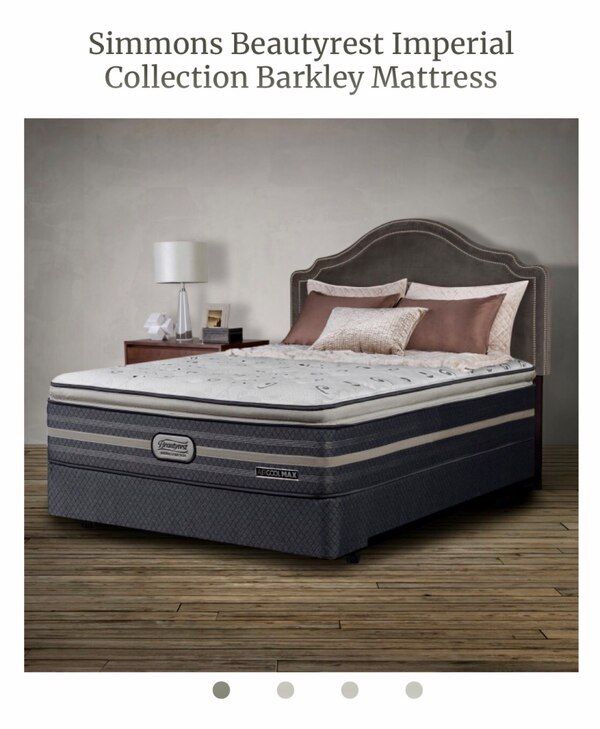 0bf3ff69f1c518 Used Brand New** Simmons beautyrest imperial collection barkley mattress  for sale in Pickering - letgo
