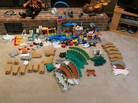 GEOTRAX LOT OF TRACK FOR KIDS TOY INCLUDES WORKING TRAIN!! Millersville, 21108