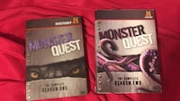 2 monster quest DVD's complete seasons 1 and 2  Newton Falls, 44444