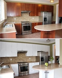 Quality Kitchen Cabinet Painting / Kitchen Cabinet Refinishing  Toronto