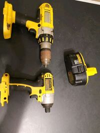 DeWalt 18v tool set - impact and hammer drill - cheap