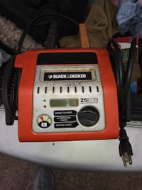 orange and black Black&Decker battery charger Nicholasville, 40356