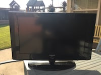 """32"""" Samsung flat screen TV with power cable and remote"""