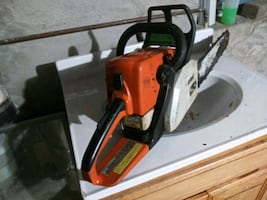 stihl ms 250 18 inches good condition asking 275 or best offer