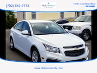 2016 Chevrolet Cruze Limited for sale Las Vegas