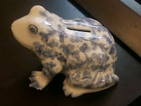 Blue Willow Frog  Mobile