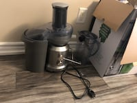 Breville BJE430SIL juice fountain cold press centrifugal juicer Toronto, M1B 3M6