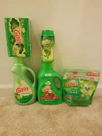 New Gain laundry detergent bundle- $20 price firm  Rockville