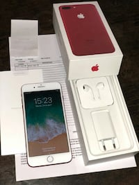 iphone 7 plus Rojo pasión 128 gb Madrid