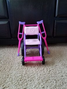 Doll wheelchair - fits American Girl dolls