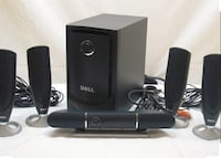 Dell 5.1 home theater system      Arlington