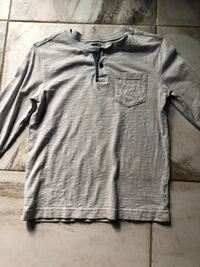 gray crew-neck long-sleeved shirt Buffalo, 14224