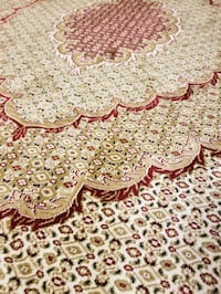 white and brown floral area rug St. Catharines, L2P 2B1