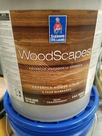 Woodscapes 3531 blue shadow stain for siding or fence