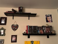 Two floating shelves with support beams Fairfax, 22030