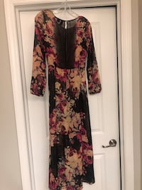 Long sleeve floral maxi  Ruskin, 33573