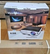 Android Smart Projector, never used.