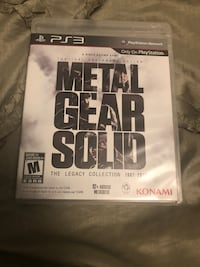 Metal Gear Solid Legacy Collection PS3 Mississauga, L5C 2Z3