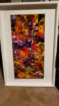 Floral Explosion acrylic painting North Little Rock, 72116