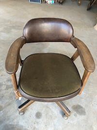 Eck Adams mid century modern desk chair Acampo, 95220
