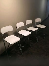 white bar chairs  Brampton, L6V 1X7