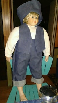 Porcelain Doll stands 30 inches tall Erwin, 37650