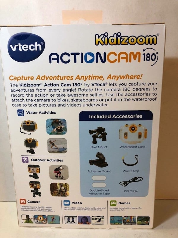VTech Kidizoom Action 180 Camera 6aa1a77b-ed8d-4275-aaa7-df6f60d602bc